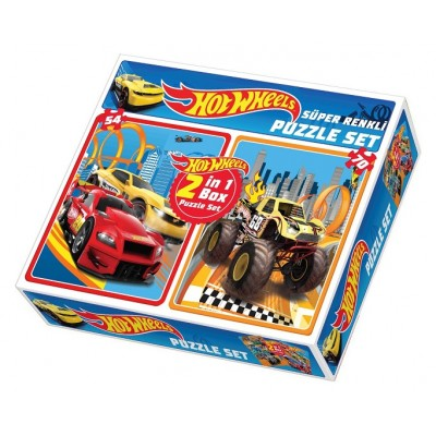 Hotwheels Puzzle 2in1